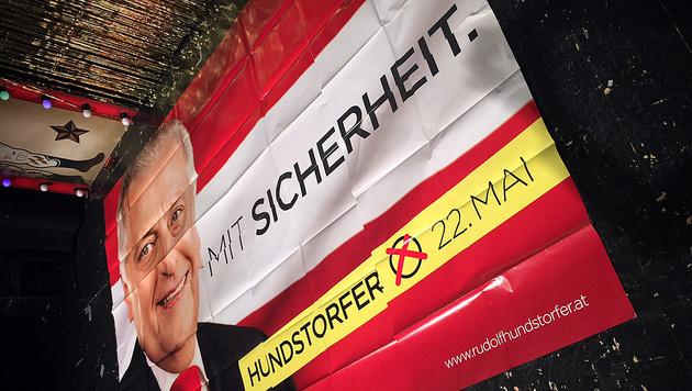 SPÖ ließ Stichwahl-Plakate drucken - um 60.000 € (Bild: twitter.com)