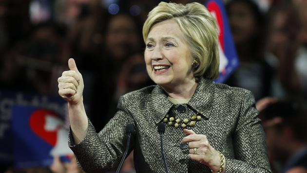Trump räumt ab, Clinton kaum noch zu schlagen (Bild: APA/AFP/EDUARDO MUNOZ ALVAREZ)