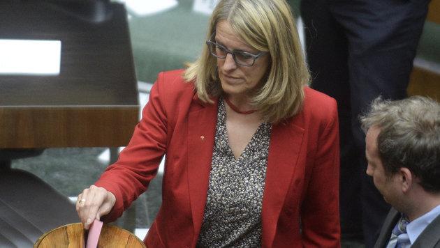 Ulrike Königsberger-Ludwig war eine der Gegenstimmen innerhalb der SPÖ. (Bild: APA/ROBERT JAEGER)