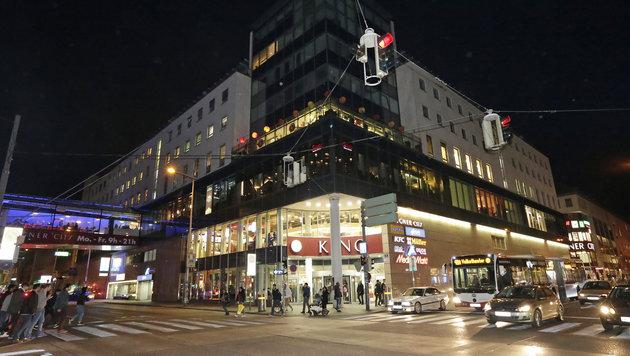 Die Lugner City am Gürtel in Wien (Bild: Klemens Groh)
