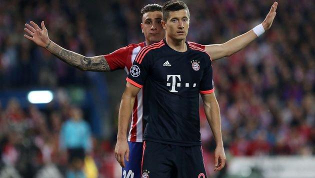 Bayern stürmt, Alaba hämmert - Atletico jubelt (Bild: AFP or licensors)