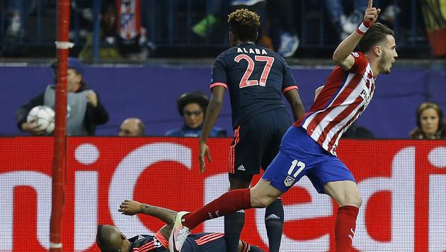 Bayerns Spanier und Alaba beschenken Atletico (Bild: AP)