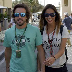 "Fernando Alonso hofft auf sexy ""Fan"" in Sotschi (Bild: AFP)"