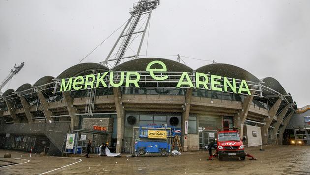 Grazer Stadion heißt ab sofort Merkur Arena (Bild: APA/ERWIN SCHERIAU)