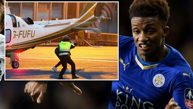 Schock! Leicester-Profi entgeht Horror-Unfall (Bild: APA/AFP/OLLY GREENWOOD/OLLY GRENWOOD, twitter.com)