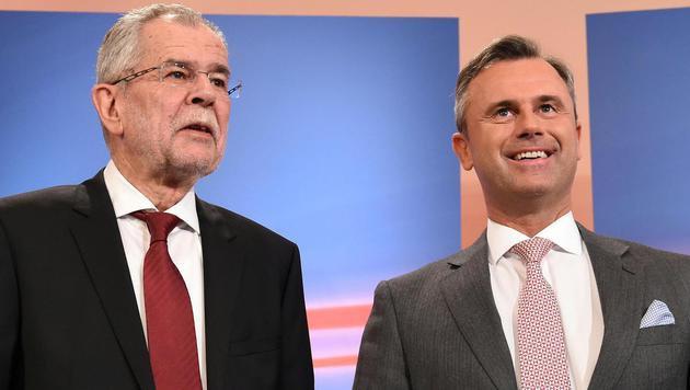 Conchita appelliert an Hofer und Van der Bellen (Bild: APA/Helmut Fohringer)