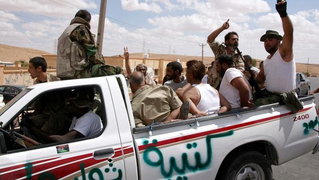 EU lässt Libyen wissentlich Waffen schmuggeln (Bild: MAHMUD TURKIA/AFP/picturedesk.com)