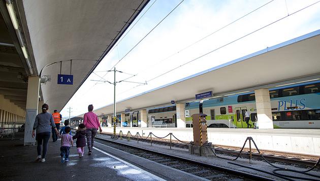 Der Wiener Westbahnhof war Anschlagsziel des 15-Jährigen. (Bild: APA/Georg Hochmuth)