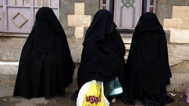Bulgarische Stadt verbietet Tragen der Burka (Bild: EPA)