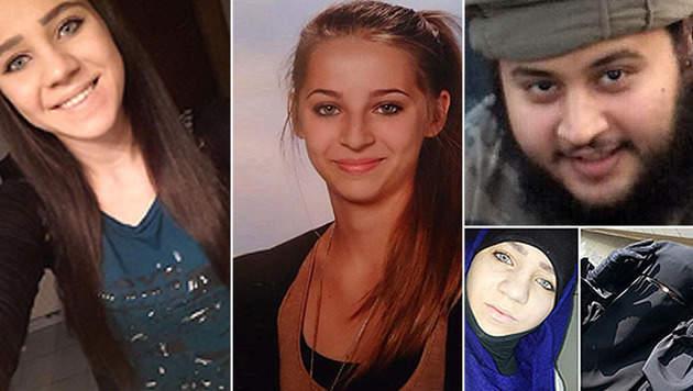 Diese Gemeinsamkeiten haben junge Terroristen (Bild: APA/EPA/INTERPOL/HANDOUT, siteintelgroup.com)