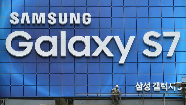 Galaxy S7 lässt bei Samsung die Kassen klingeln (Bild: AFP)