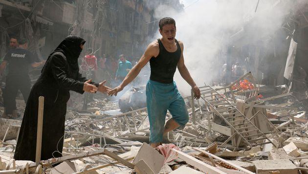 Nach schweren K�mpfen nun Waffenruhe in Aleppo? (Bild: APA/AFP/AMEER ALHALBI)