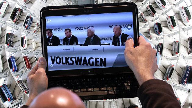 VW-Bosse kassieren Rekord-Boni f�r Dieselgate (Bild: APA/AFP/RONNY HARTMANN, AP)