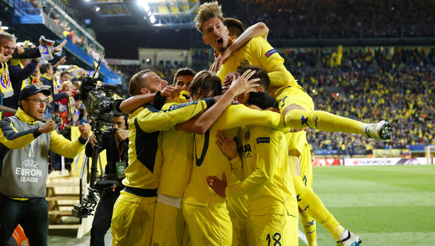 Villarreal mit Last-Minute-Sieg gegen Liverpool (Bild: AP)
