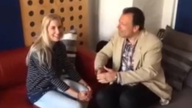 Witzig! Lauda und Co. interviewen Ski-Queen Brem (Bild: YouTube.com)