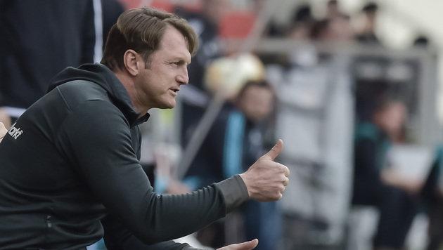 Hasenhüttl richtiger Trainer für RB Leipzig (Bild: AFP)
