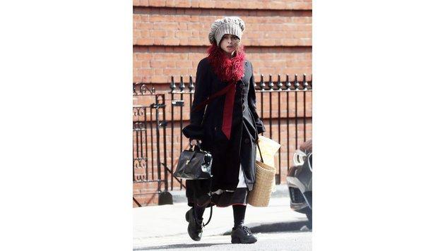 Helena Bonham Carters Stil ist unverkennbar. (Bild: Viennareport)