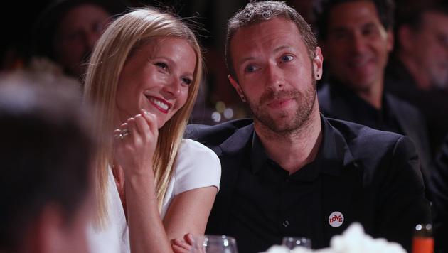 Gwyneth Paltrow und Chris Martin (Bild: Colin Young-Wolff/Invision/AP)