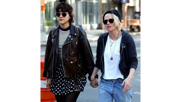 Kristen Stewart mit Freundin Soko (Bild: Viennareport)