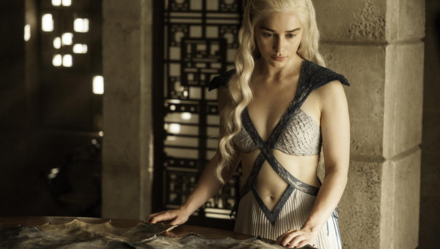 "Emilia Clarke als Daenerys Targaryen in ""Game of Thrones"" (Bild: AP)"