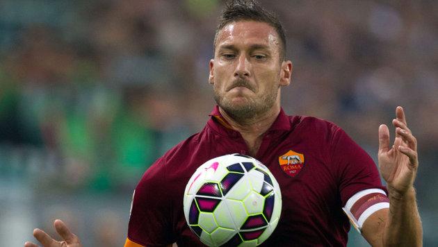 Hängt Roma-Legende Totti noch ein Jahr dran? (Bild: GEPA pictures)