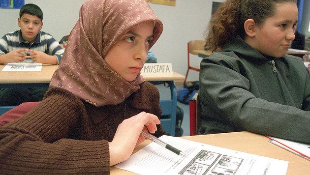 Überprüfungen in Wiens Islam-Schulen: Welche Inhalte werden dort tatsächlich gelehrt? (Bild: dpa/lnw)