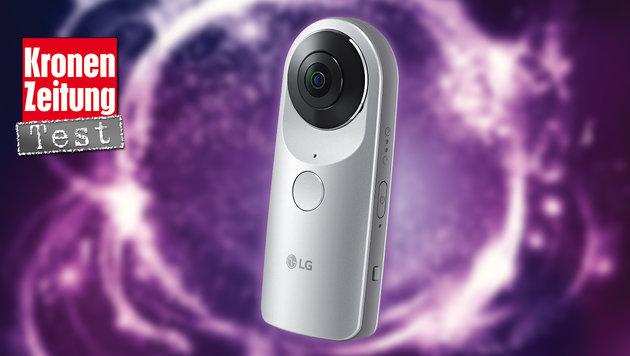 LG 360 Cam: 360-Grad-Kamera für das Smartphone (Bild: LG, thinkstockphotos.de)