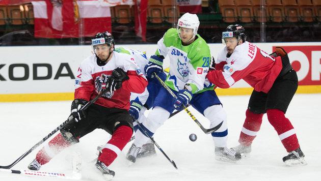 Österreichs Eishockey-Team bleibt zweitklassig (Bild: APA/GEORG HOCHMUTH)