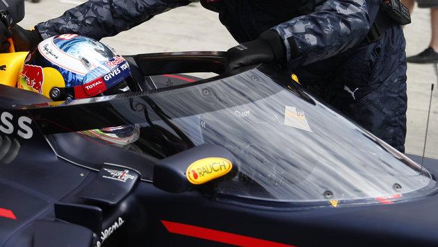 """Red Bull setzt neuen """"Canopy""""-Cockpitschutz ein (Bild: AP)"""
