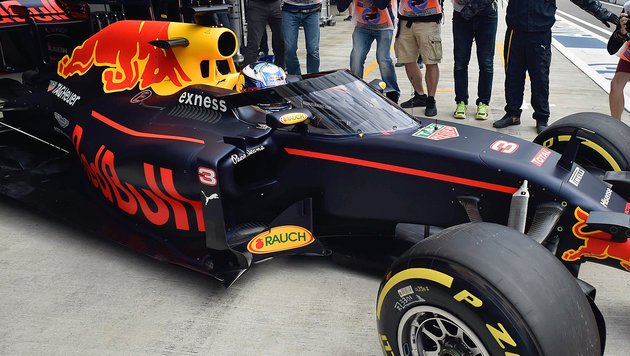 """Red Bull setzt neuen """"Canopy""""-Cockpitschutz ein (Bild: APA/AFP/ALEXANDER NEMENOV)"""