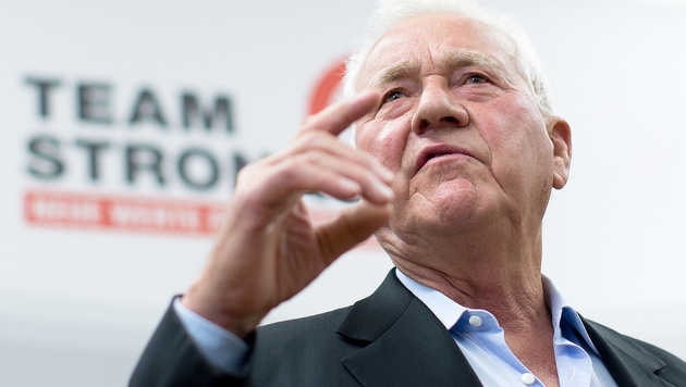 """Stronach: """"Völlig egal, wer Bundespräsident wird"""" (Bild: APA/GEORG HOCHMUTH)"""