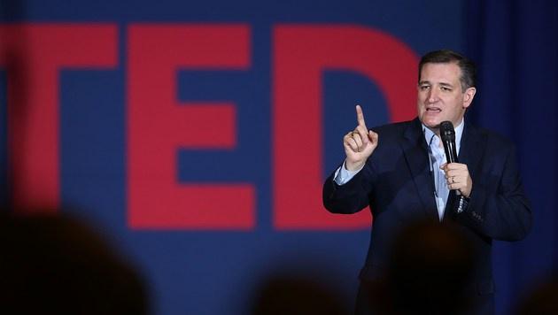 Ted Cruz bei einer Wahlkampfveranstaltung (Bild: 2016 Getty Images)