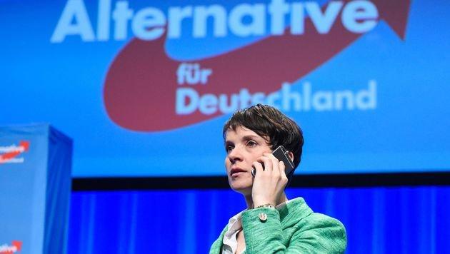 AfD-Vorsitzende Frauke Petry (Bild: AFP)