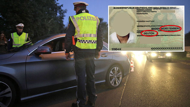 Ausweis mit Tippfehler überführt Einbrecher-Duo (Bild: APA/GEORG HOCHMUTH, APA/LPD WIEN)