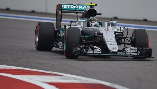 Sotschi: Rosberg holt Pole, Defekt stoppt Hamilton (Bild: APA/AFP/ALEXANDER NEMENOV)