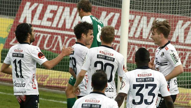 WAC schießt Mattersburg in den Abstiegskampf (Bild: APA)
