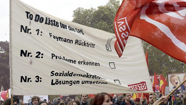 Kanzler: Kein Abweichen vom harten Asylkurs (Bild: APA/Hans Punz)
