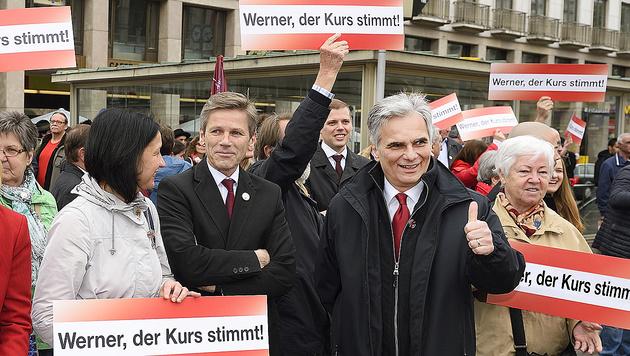 Kanzler: Kein Abweichen vom harten Asylkurs (Bild: APA/SPÖ/Johannes Zinner)