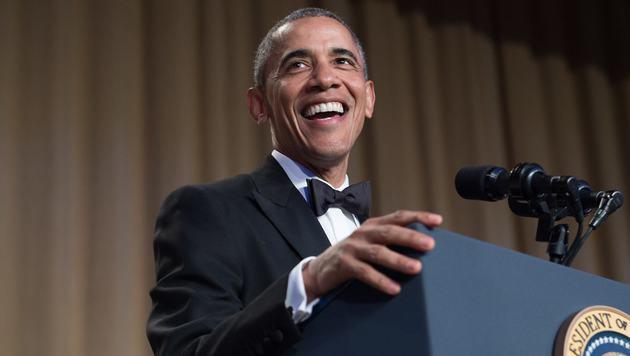 Jetzt macht sich sogar Obama über Samsung lustig (Bild: AFP)