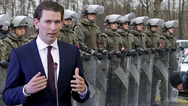 "Kurz: ""Keine Neutralität gegenüber Terrorismus"" (Bild: AP, Sepp Pail)"