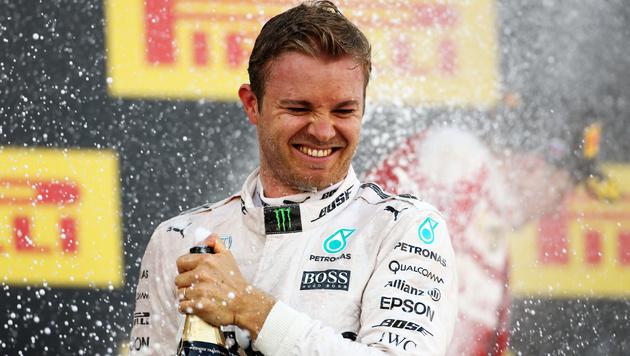 Nico Rosberg triumphiert auch in Sotschi (Bild: GEPA)