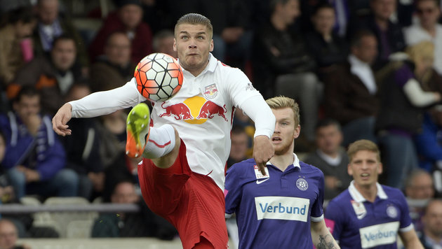 Red Bull Salzburg so gut wie fix Meister! 2:0 (Bild: APA/HANS PUNZ)