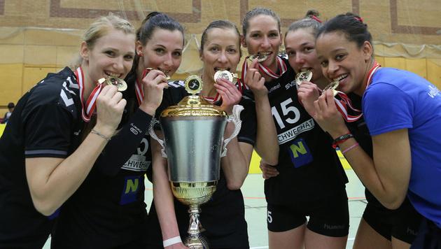 SVS Post gewinnt 23. Meistertitel in Folge (Bild: GEPA)