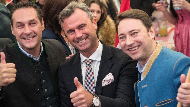 """Strache: """"Wir sind jetzt die Erben von Kreisky!"""" (Bild: FOTOKERSCHI.AT)"""