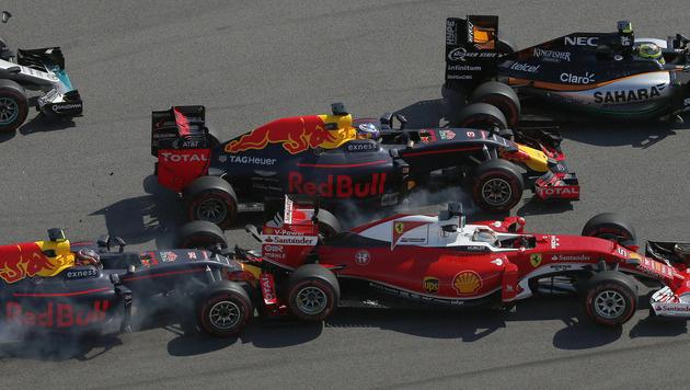 Nico Rosberg triumphiert auch in Sotschi (Bild: AP)