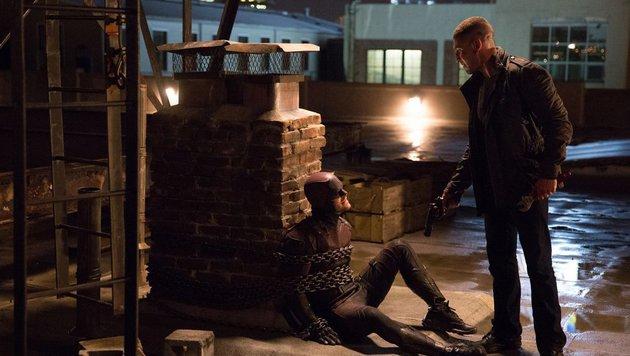 Das erste Aufeinandertreffen von Daredevil und Punisher (Bild: Marvel.com)