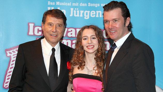 Udo Jürgens mit Tochter Gloria und Sohn John (Bild: Viennareport)