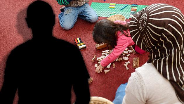 Asylwerber in Islam-Kindergärten untergebracht? (Bild: APA/dpa/Uli Deck, thinkstockphotos.de)