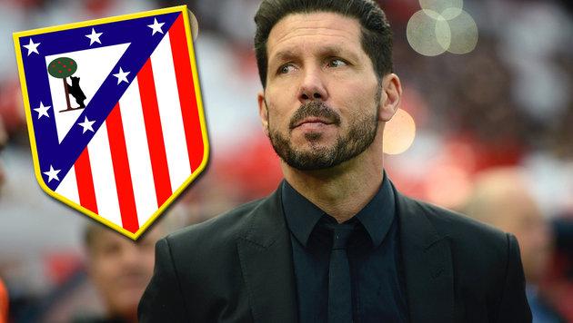 Atletico Madrid verkürzt Vertrag mit Coach Simeone (Bild: GEPA, Atletico Madrid)