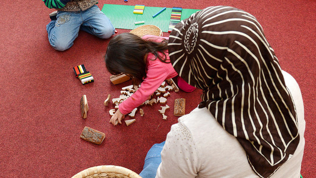 Erster Islam-Kindergarten in Wien muss schließen (Bild: APA/dpa/Uli Deck)